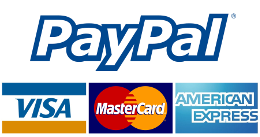 We take Paypal payments!